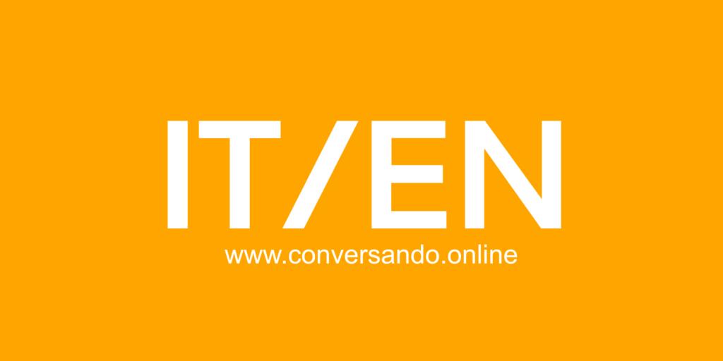 Conversando Online Italian-English Language Exchange